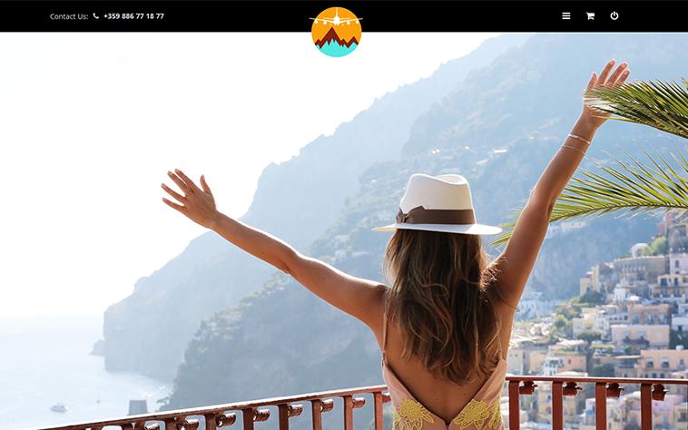 Темплейт за туризъм от CloudCart