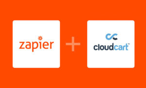 zapier integration cloudcart