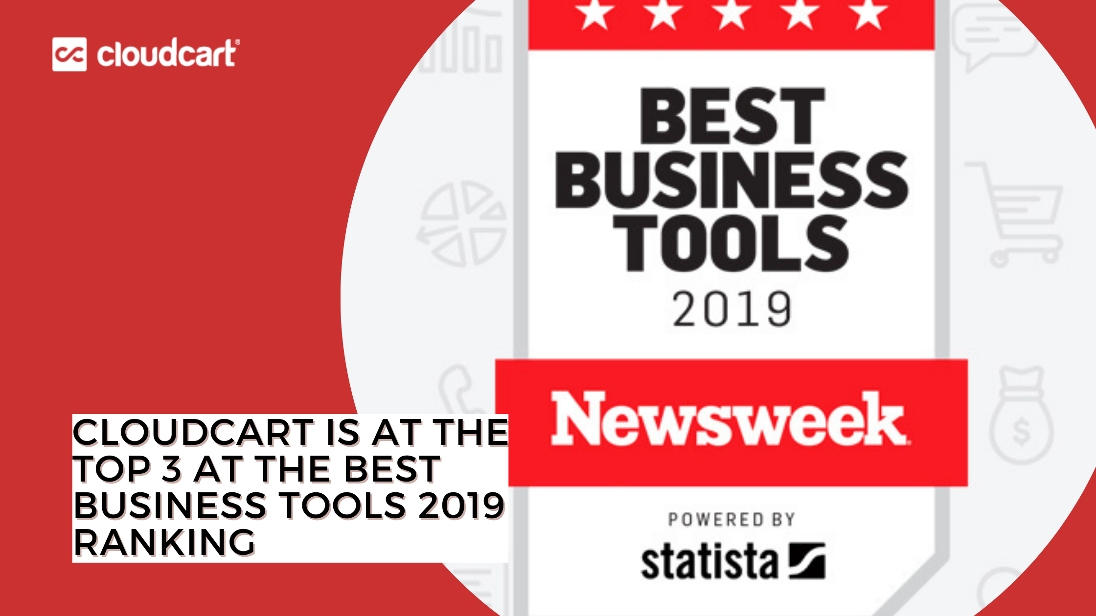 CloudCart is at the Top 3 at the Best Business Tools 2019 ranking